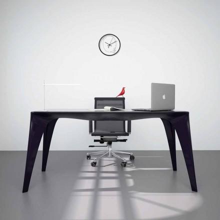 Masă de birou de design modern, produsă în Italia, Pomarolo
