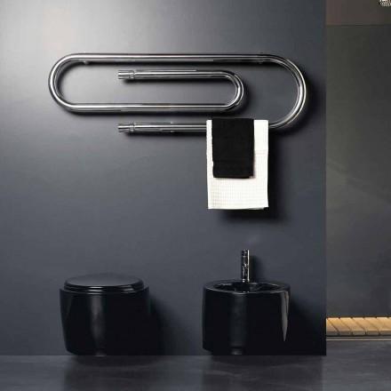 Termoarredo Design Agrafa hidraulic cu finisaj cromat H Scirocco