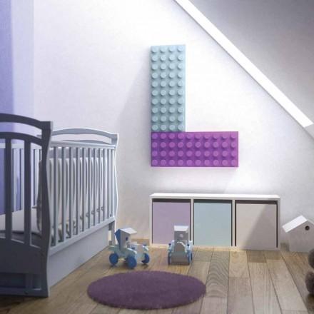 Design Termoarredo electrice Lego Brick fabricate in Italia H Scirocco