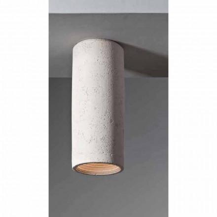 TOSCOT Karst mare plafon de lumină Ø 13 x H 31cm Made in Toscana