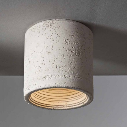 TOSCOT Karst plafon de lumină Ø 13 cm Made in Toscana