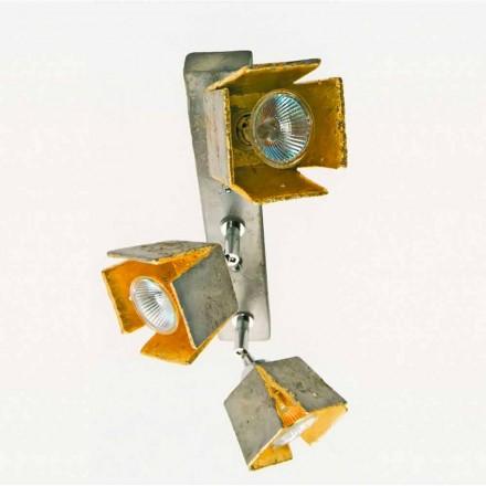 reglette placa TOSCOT 3 lumini direcționale realizate în Toscana