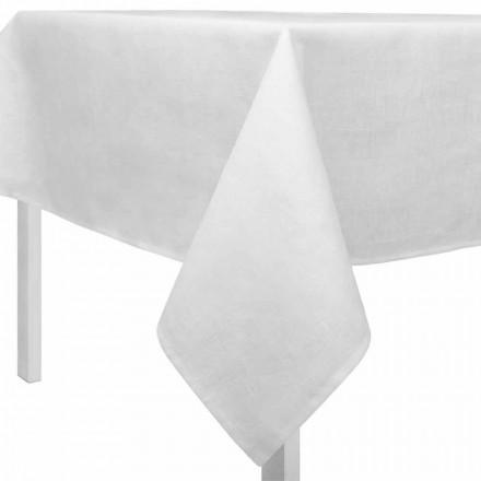 Față de masă albă cremă dreptunghiulară sau pătrată realizată în Italia - Blessy