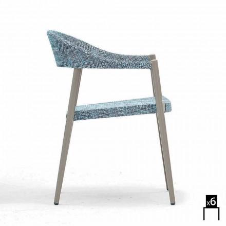 Varaschin Clever scaun de gradina moderne de design, 6 bucăți