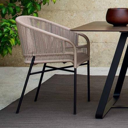 Varaschin Cricket scaun cu exterioare, 2 bucăți țesute manual