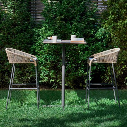 Varaschin Cricket scaun top design modern gradina, 2 piese