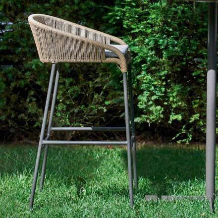 scaun Varaschin Cricket moderne de aluminiu gradina, 2 piese