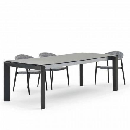tabel Varaschin Dolmen exterior modern de design 240x100 cm