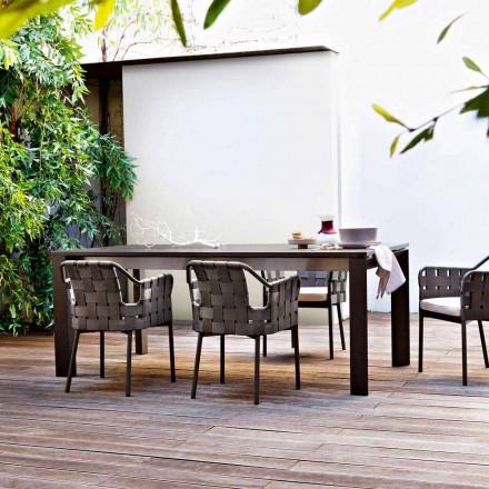 Varaschin Dolmen masă de grădină extensibilă de până la 380 cm