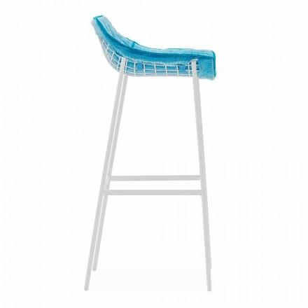 Varaschin Summer Set scaun exterior din oțel și țesătură