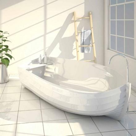 Design cada de baie sub forma unei barci Ocean făcute în Italia