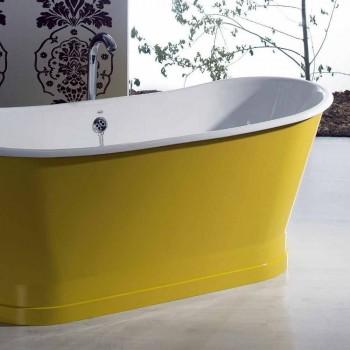 Baie de colorat din fontă de sine statatoare design modern Betty