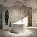 Designul rotund de cadă de baie, produs în proporție de 100%, în Italia, Cremona