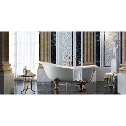Cada de baie clasică, cu design liber, fabricată în Italia, Fregona