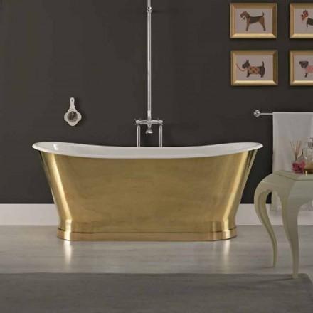 Design de baie cu fonta capac exterior ottone Roy