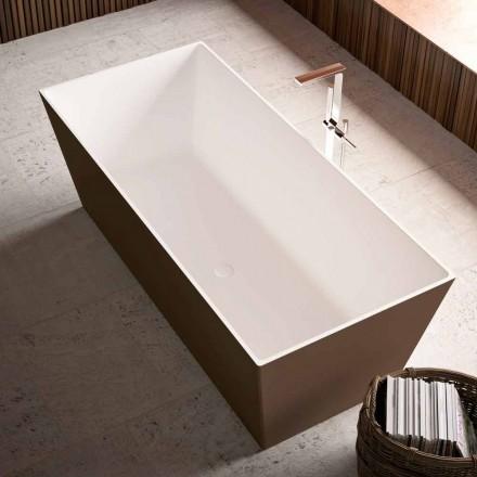 Cada de baie gratuită, Bicolor extern strălucitor sau Matt - Filo