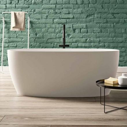Cadă de baie gratuită, Design în suprafață solidă lucioasă / Matt - Velo