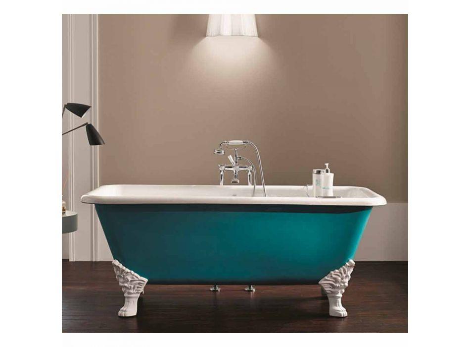 Design baie de sine statatoare din fontă ace decorative Wanda