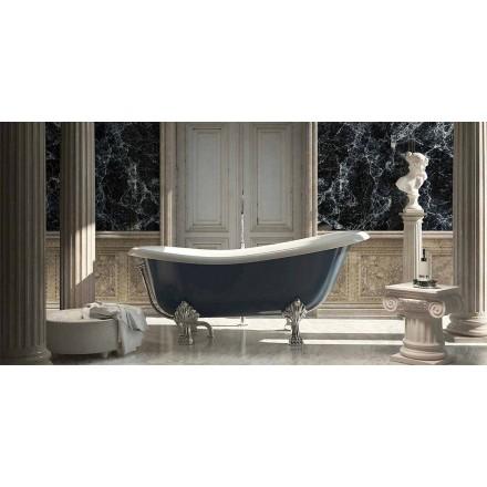 Design clasic de baie albastră cu rășină albastră, Fregona fabricat în Italia