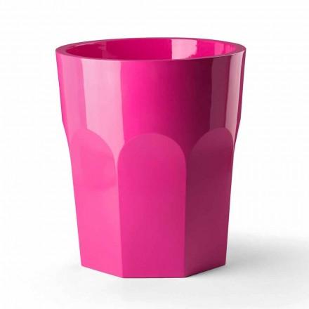 Vaza decorativa inalta cu forma de sticla din polietilena Made in Italy - Pucca