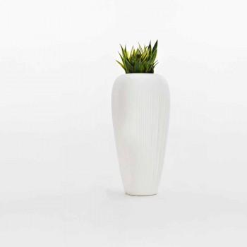 2 bucăți Vază din polietilenă albă, bej sau antracit - Piele de Myyour