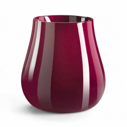 Vază decorativă în formă de picătură în polietilenă Made in Italy - Monita