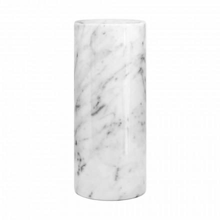 Vază decorativă din marmură albă de Carrara fabricată în design italian - Nevea
