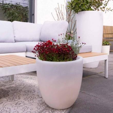 Design Vază externă și internă iluminată în polietilenă colorată - Svasostar