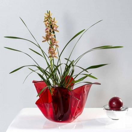 Vaze externe multi-scop / Pina rosso, design modern intern realizat în Italia