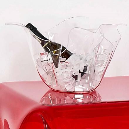 Vaze multi-scop transparent Pina, de design interior / exterior modern,