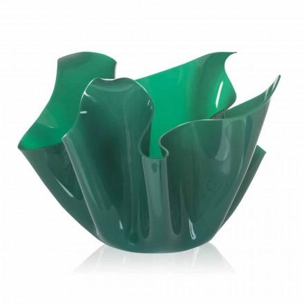 Vaze multi-scop verde Pina, design modern / interior exterior realizate în Italia