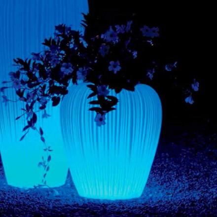 Borcan luminos cu baterie cu inducție RGBW, 2 bucăți - Skin de Myyour