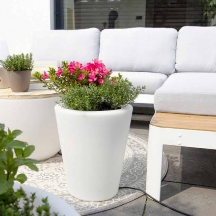 Vaza luminoasa pentru exterior si interior, design colorat in 3 dimensiuni - Vasostar