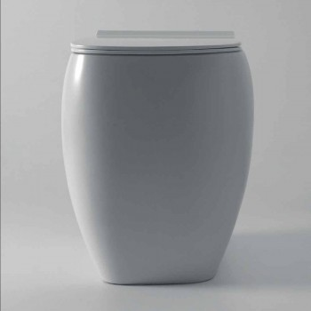 Alb vaza ceramica WC cu design modern Gais, fabricata in Italia