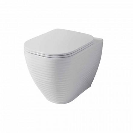 Design vaza de toaletă din ceramică albă sau colorată Trabia
