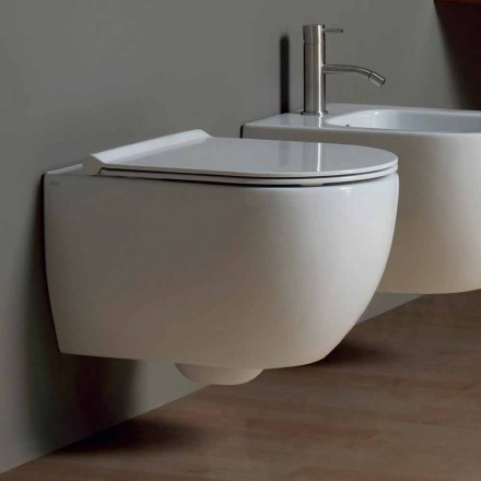 Perete WC design modern 50x35 ceramice de stele Made in Italy