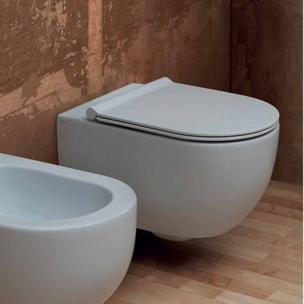 Perete WC design modern 55x35 ceramice de stele Made in Italy