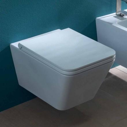 Vaze ceramice agățat toaletă, design modern, Sun Piata made in Italy
