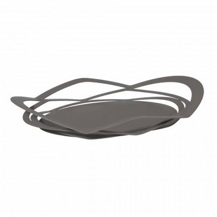 Tavă de design modern din fier făcut manual, fabricat în Italia - Futti