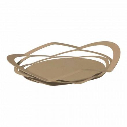 Tava de bucătărie modernă realizată manual, din fier, fabricată în Italia - Futti