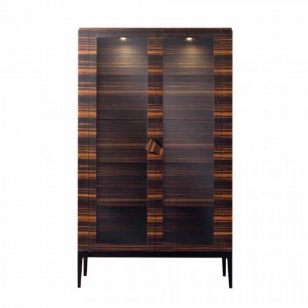 Grilli Zarafa dulap din lemn masiv cu 2 uși fabricate în Italia de design