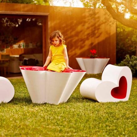 Vondom Agatha plantator de design exterior în polietilenă colorată