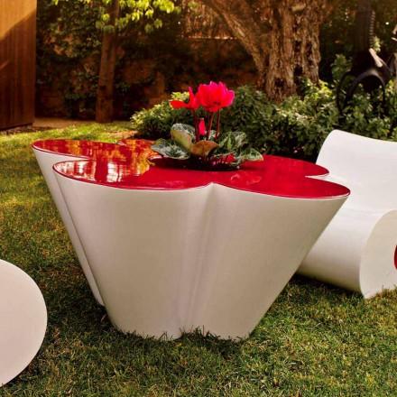 Vondom Agatha masă exterioară de design în polietilenă colorată