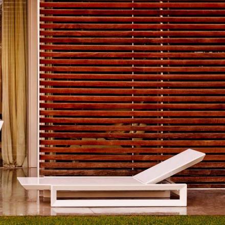 Vondom Frame design grădină în polietilenă albă
