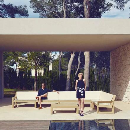 Vondom Frame salon modern de grădină din rășină de polietilenă