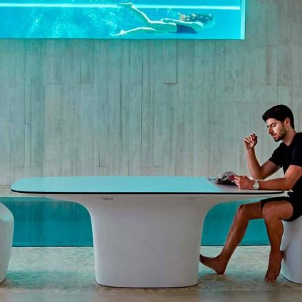 Vondom Ufo masă de exterior alb designer L200xP100 cm