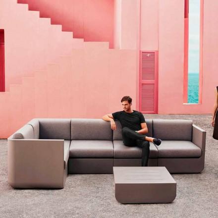 Vondom Ulm compoziție design taupe grădină lounge