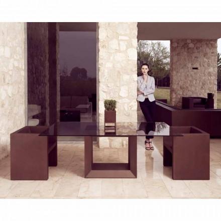Vondom Vela fotoliu de design modern, finisaj de bronz