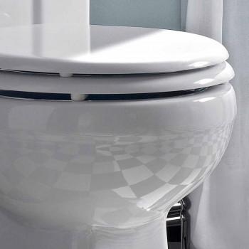 Apa Monobloc clasic în ceramică albă cu cutie fabricată în Italia - Marwa